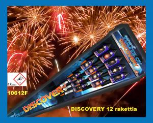 DISCOVERY 12 rakettia